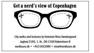 Nina Søndergaards visitkort